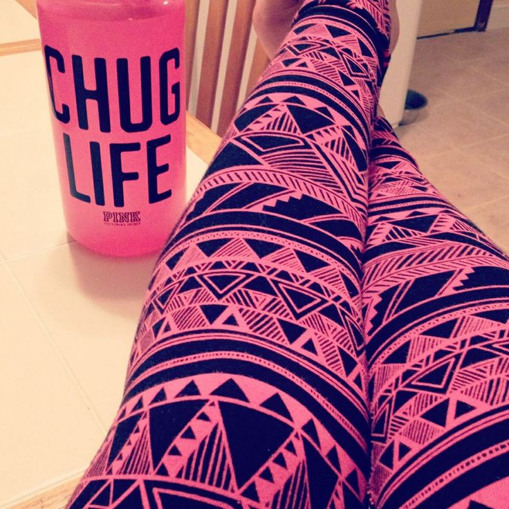 Stunning, Pink Tribal Print Leggings in bold black and pink. Handcrafted in California. Unique yoga leggings that you won't find anywhere else. Tired of the same old thing? Up the style quotient in your workout wardrobe with these stunning, Pink Tribal Print Leggings in bold black and pink. Handcrafted with microfiber yarn, these stylish.