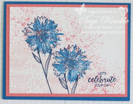 See design tips on a unique card made with Touches of Texture abstract stamps.  Learn cardmaking design skills and increase your creative confidence.