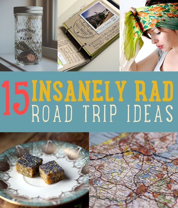15 Road Trip Inspired DIY'S You Need To Know About | DIY Summer Road Trip Project Ideas | diyready.com