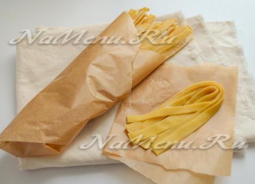 Домашняя итальянская паста