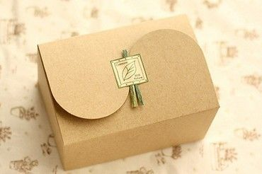 Plain kraft box, elegant muffin packaging box, cake gift boxes, food packaging-in Packaging Boxes from Industry & Business on Aliexpress.com