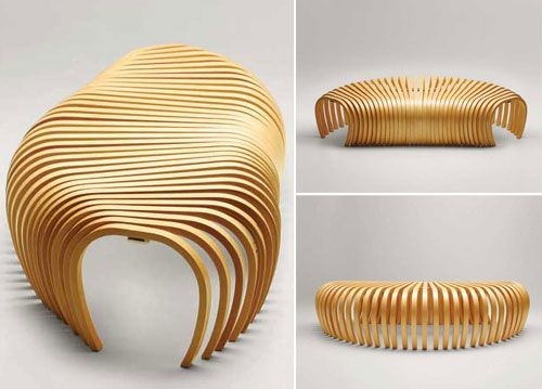 Ribs Bench Contemporary Bench Designed By Stefan Lie From Sydney, Australia Design Ideas