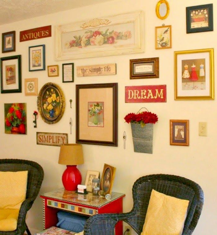 223 best Gallery Walls images on Pinterest   Gallery walls, My house ...
