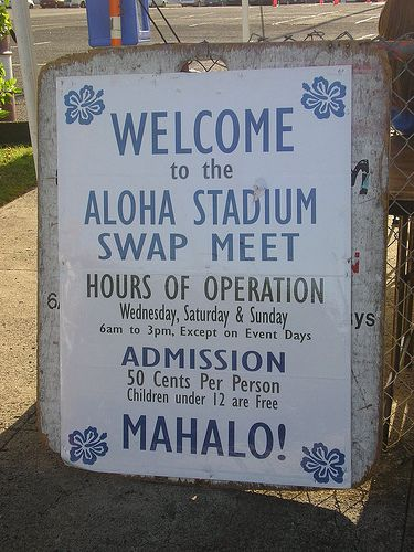 Can't go to Oahu without going to the Aloha Flea Market!1~~Aloha Stadium Swap Meet by CherryDarlin', via Flickr
