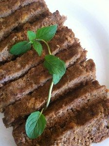Delicious Eggless Meatloaf - Chic Organic Mama