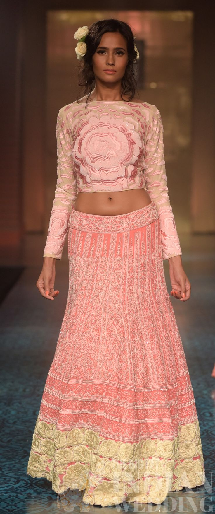 spring pink wedding inspiration from Manish Malhotra