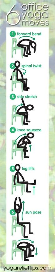 Office Yoga: Easy Chair Yoga Exercises tomorrow-i-ll-be-better