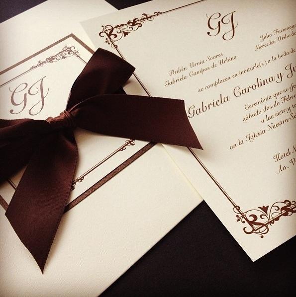 Bellas y elegantes invitaciones para boda tarjeter a detalles recuerdos pinterest - Detalles de boda elegantes ...