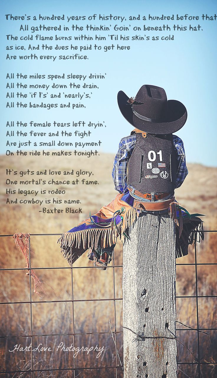 His Legacy is Rodeo.....and Cowboy is his name :)                                                                                                                                                                                 More