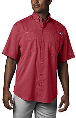 73504a1ba0b Amazon.com: Columbia Men's Tamiami II Short Sleeve Shirt, Sunset Red,  Medium: Sports & Outdoors