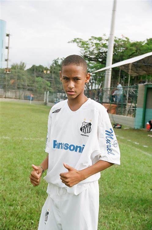 Young Neymar #footballislife