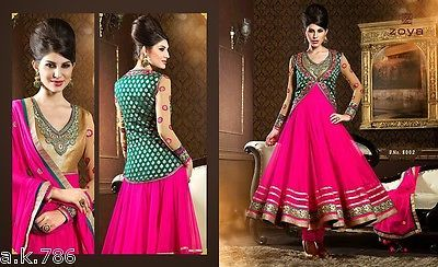 Latest Designer Asian Anarkali Traditional Suit NEW