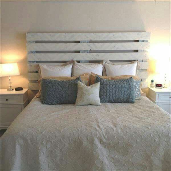 Shabby Chic and Rustic headboard