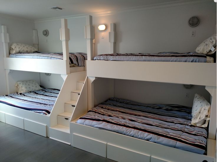 Adult bunk beds, Quad Bunkbeds for Adults