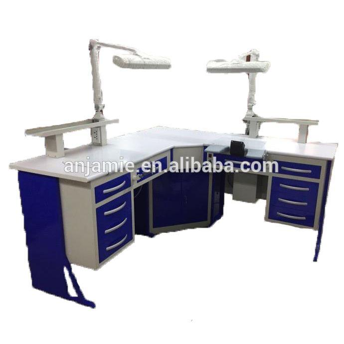 Dental laboratory equipment dental supply metal work bench