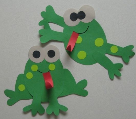 Cute and easy frog glyph