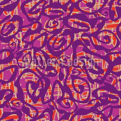 Crazy For Purple by Susanne Jocham available for download as a vector file on patterndesigns.com