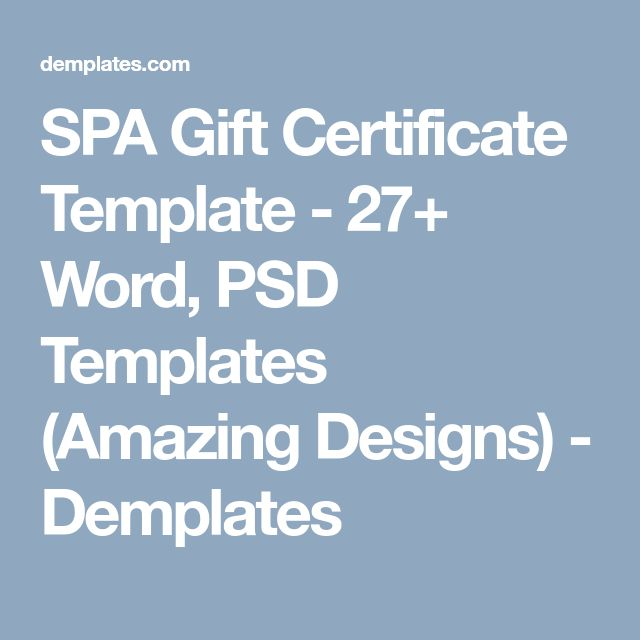 best of the best collection of spa gift certificate templates in word psd formats provided with samples formats of spa day gift certificates best