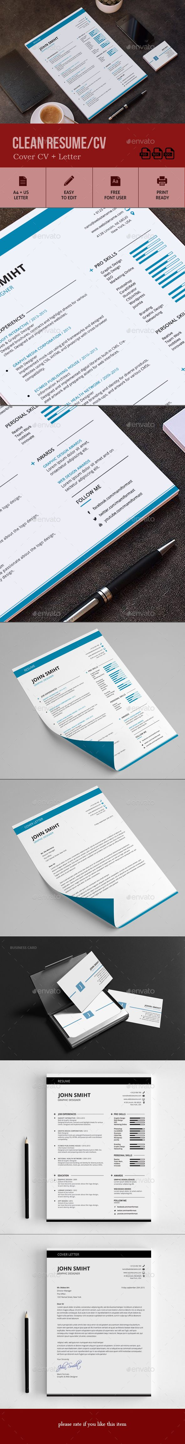 Resume Template 599 best CvResumesPortfolio images on