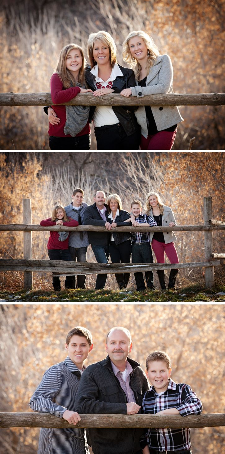 Family Portraits idea (One in the middle) Look what i found on Pinterest :) @Sharla Hanson