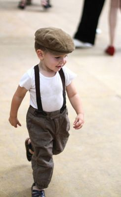 When I have children I will have so many ideas and looks for them, they're going to be the epitome of style! :)