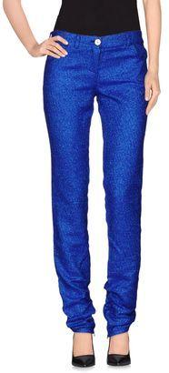 FAP FILLES A PAPA Casual pants - Shop for women's Pants - Blue Pants