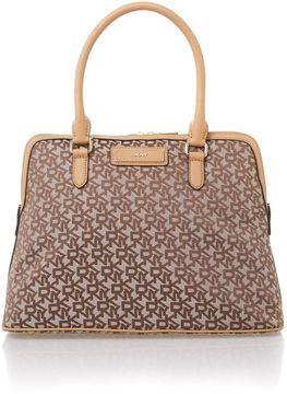 DKNY Saffiano brown dome bag on shopstyle.co.uk | blog.pixiie.net #DKNY #Bag