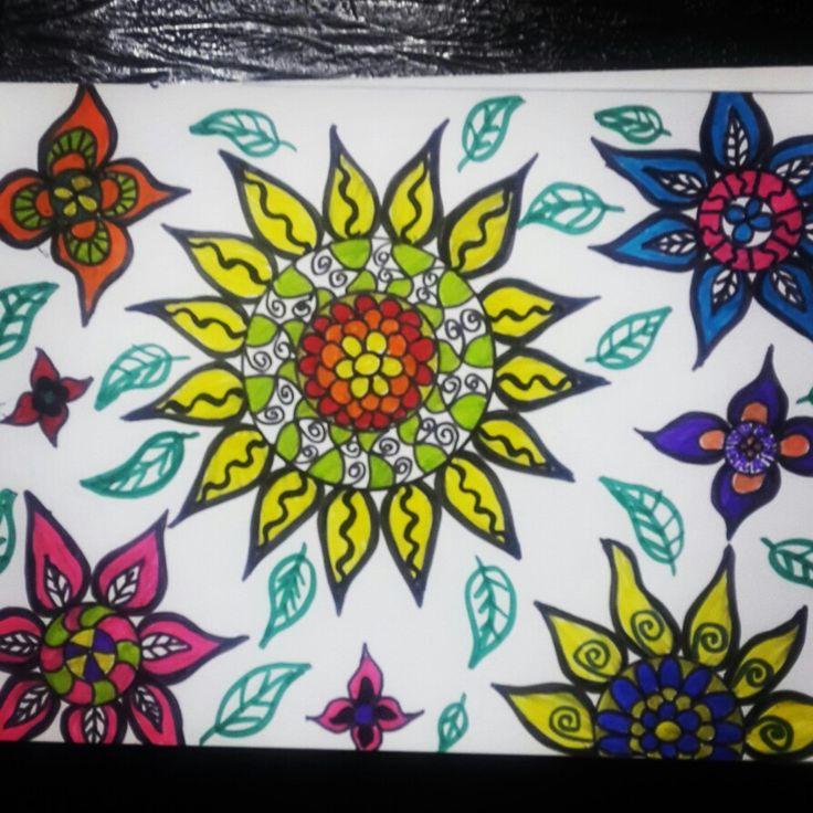 #keçelikalem #çiçek