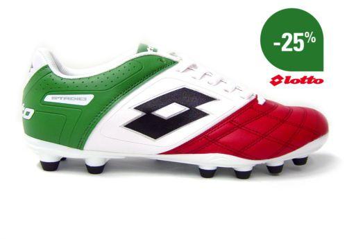 Scarpe Calcio Calcetto Lotto Stadio Potenza lll Colori Italia Uomo Tretter 2013