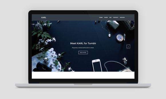 Check out KARL - Portfolio Photography Theme by Mimesis Themes on Creative Market