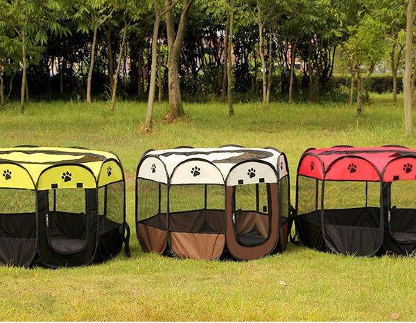 Foldable Puppy PlayPen -