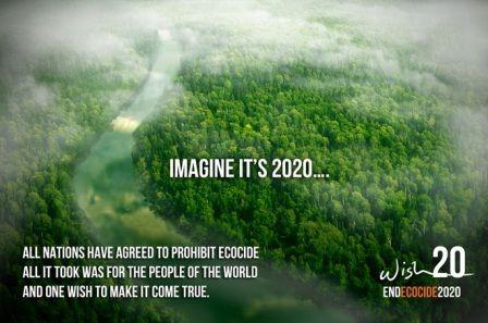 L'écocide est une destruction des écosystèmes à grande échelle. Une initiative citoyenne européenne (ICE) a été lancé dans le but de faire enfin reconnaitre des droits à la terre et que des personnes physiques et non morales (entreprises) puissent être reconnues juridiquement responsables.  http://www.radioethic.com/les-emissions/ecologie/protection-de-la-nature/arretons-l-ecocide-en-europe.html