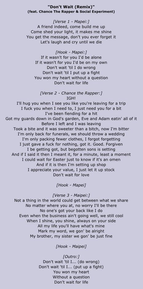 Ying Yang Twins – Wait (The Whisper Song) [Remix] Lyrics ...