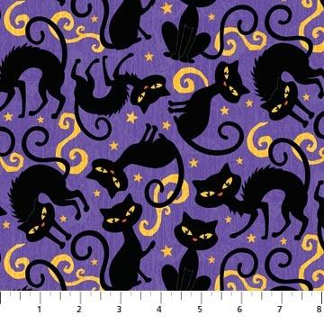 halloween fabric fat quarters
