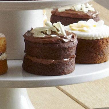 Mini Chocolate Sandwich Cakes