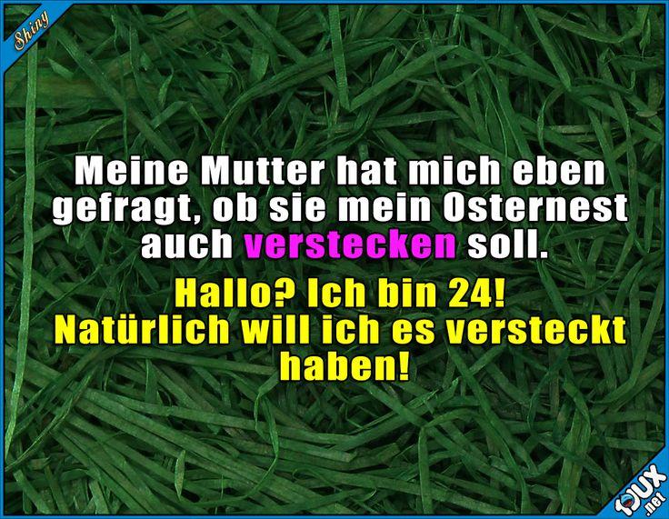 Ist doch klar! :) #Ostern #Ostern2017 #Karsamstag #Karfreitag #Ostermontag #Ostersonntag #Humor