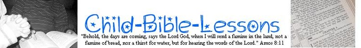 Summer Bible Lessons - including Fruit of the Spirit.