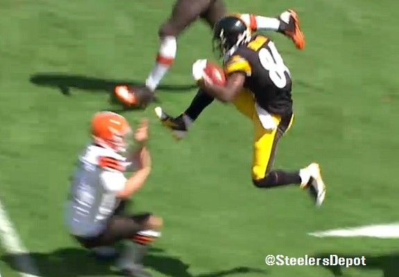 Report: Steelers WR Antonio Brown Added Five Pounds Of Muscle This Offseason
