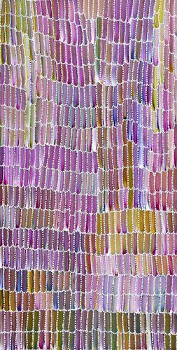 "Jeannie Mills – Aboriginal Art Centre – Anaty 1105 ""Bush Potato"""