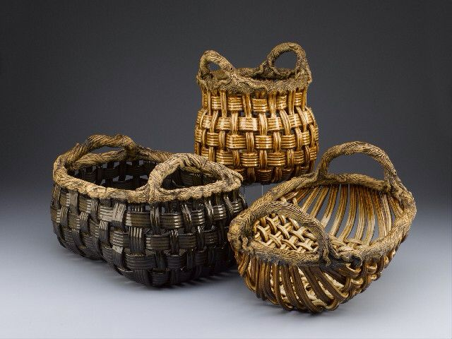 Woven Basket Building : Best woven or extruded pottery ideas images on