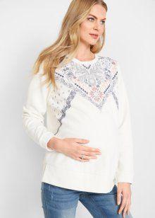 33e246b931c Свитшот с принтом для беременных