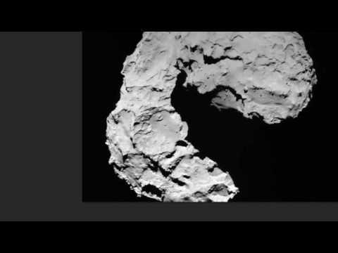 Sonda Rosetta Capta  Ovni Extraterrestre