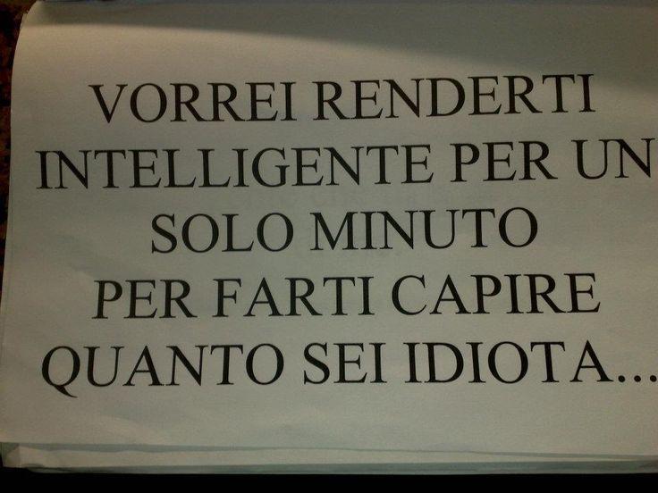 l'intelligenza non è per tutti