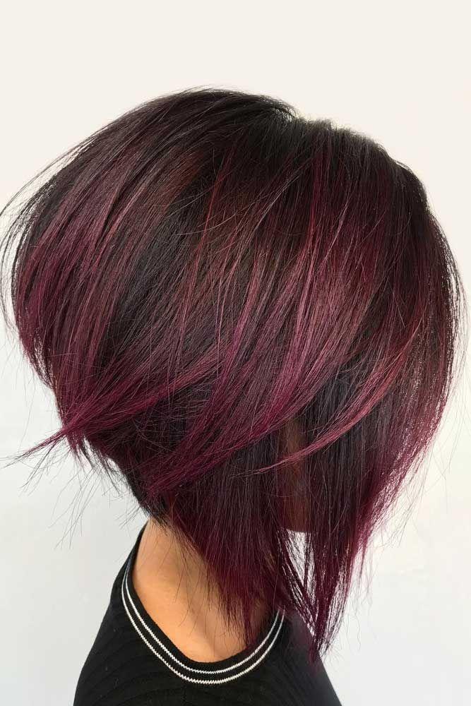 28+ Burgundy short bob hairstyles ideas