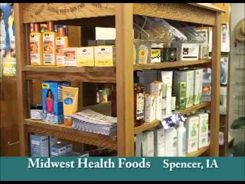 Spencer Iowa's Midwest Health Foods on Our Story's Outside Sweet Swine County