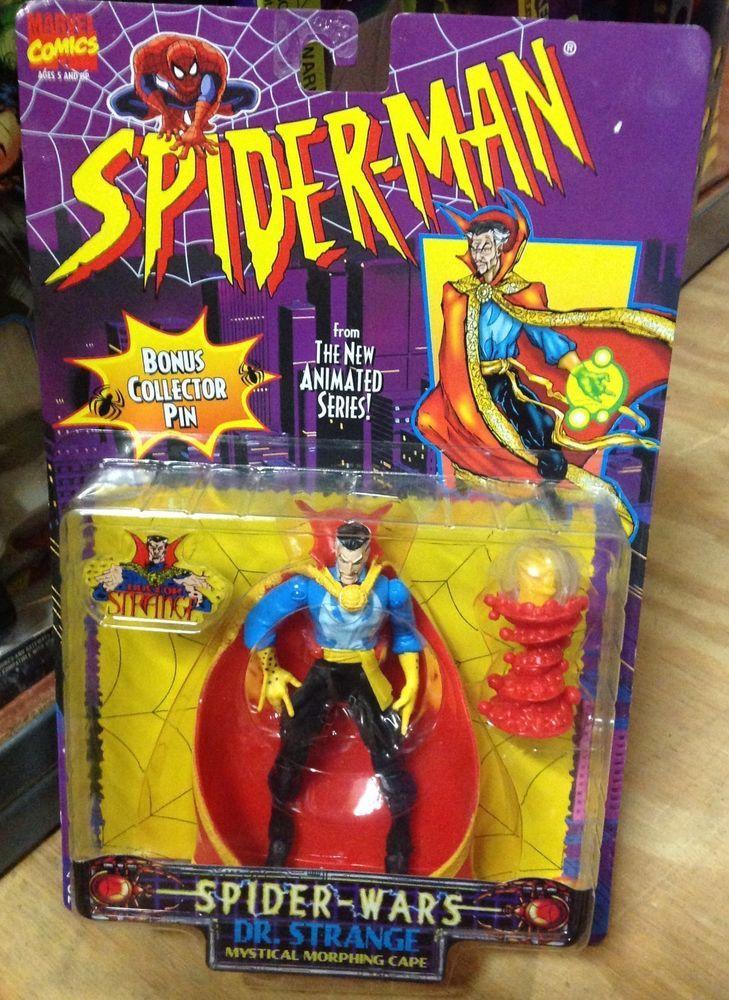 Strange w// Mystical Morphing Cape Marvel Spider-man Dr