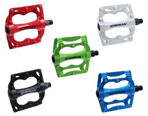 bunte-MTB-BMX-Freeride-Fixie-Plattform-Aluminium-Pedale-rot-gruen-blau-bike-parts