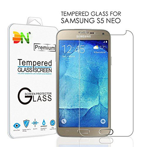 DN-TECHNOLOGY® [1 PACK IN STOCK NOW ] SAMSUNG GALAXY S5 NEO Tempered Glass Premium Quality Tempered-Glass Screen Protector for New SAMSUNG GALAXY S5 NEO [GLASS Ultra Thin Display] Lightweight Rounded Edge Hardness up to 9H (harder than a knife) - Includes Micro fibre Polishing Cloth DN-TECHNOLOGY® http://www.amazon.co.uk/dp/B019Y201EE/ref=cm_sw_r_pi_dp_1ZIPwb0MNM2MM
