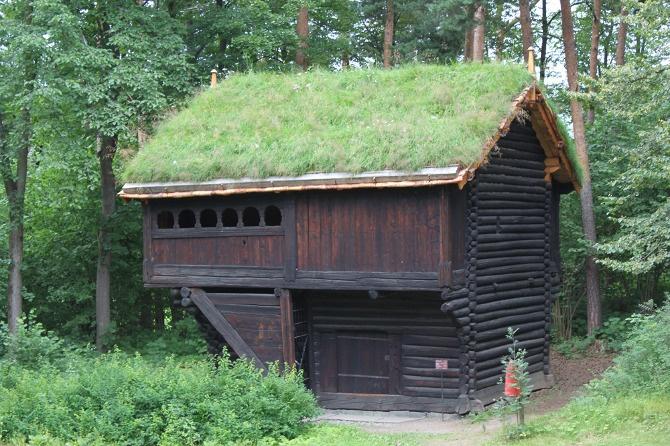 Norwegian homestead. Photo by Anna Duthie.