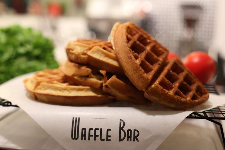 our waffles in WaffleBar